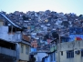 Fawele Rocinha oraz Santa Marta, Rio de Janeiro, Brazylia, 2017