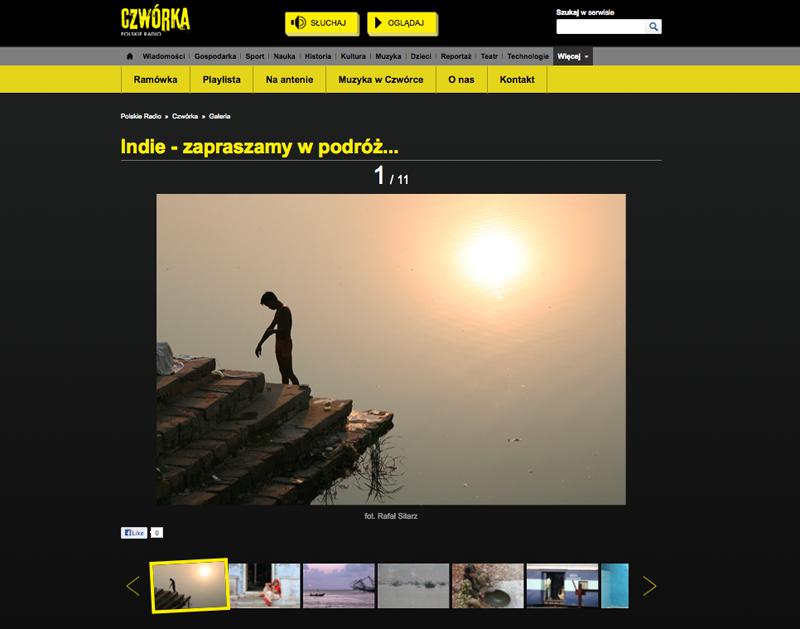 Zdjęcia z Indii - Radio Czwórka