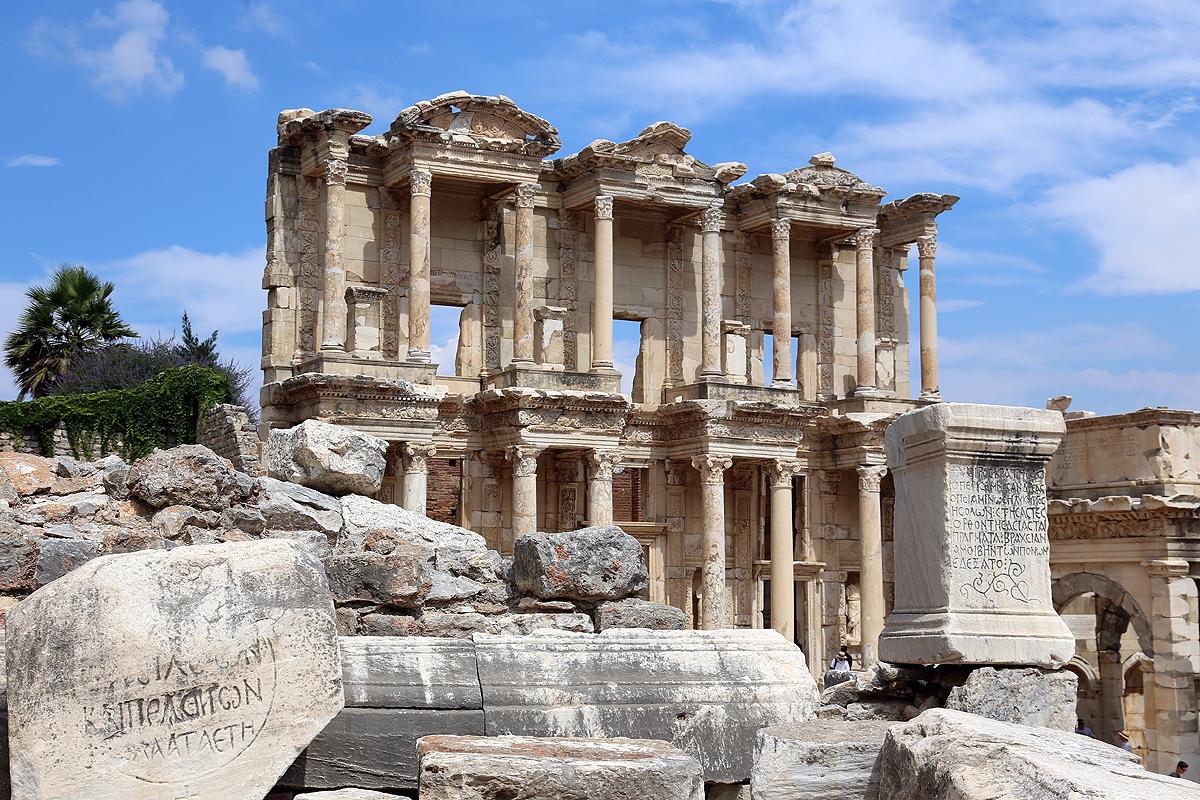 Biblioteka Celsjusza, Efez