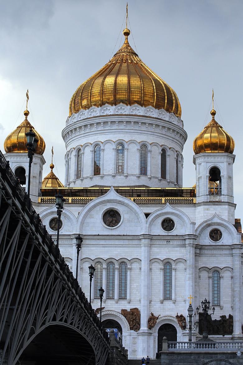 Moskwa z perspektywy rzeki, 2015.
