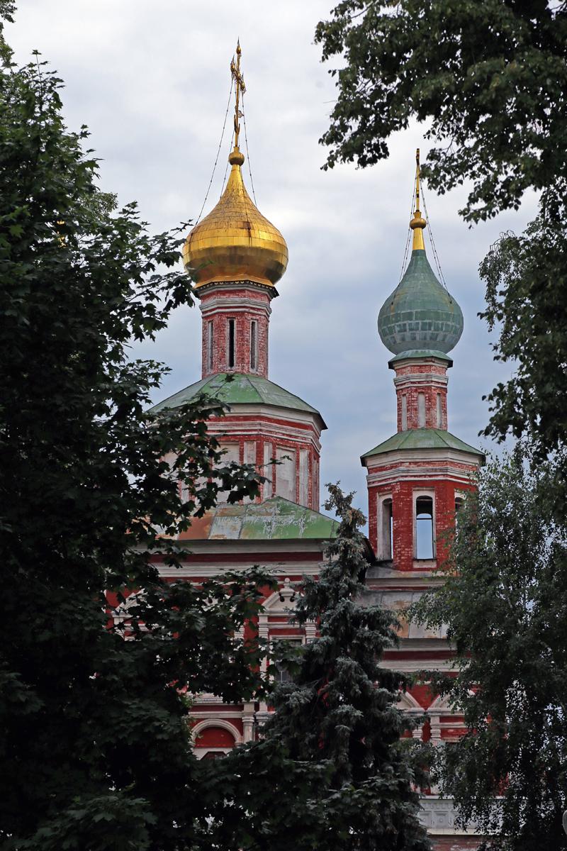 Klasztor Novodevichy, Moskwa, Rosja