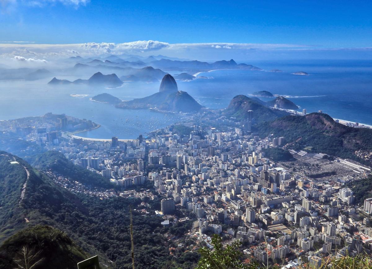Rio de Janeiro i Sao Paulo, Brazylia, 2017